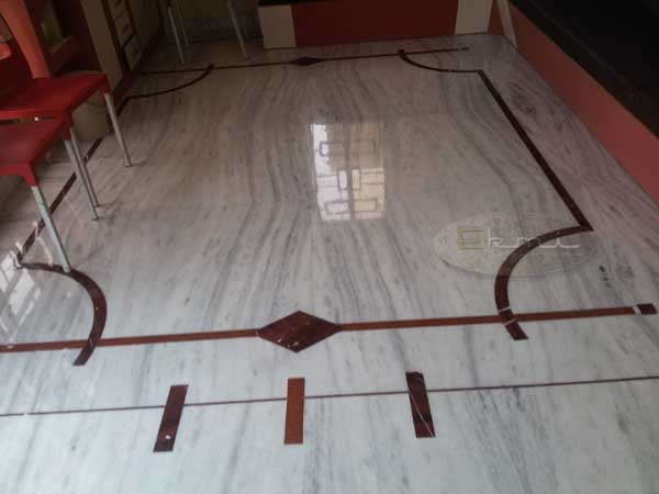 Dungri marble with flooring designs with price range for White marble floor designs